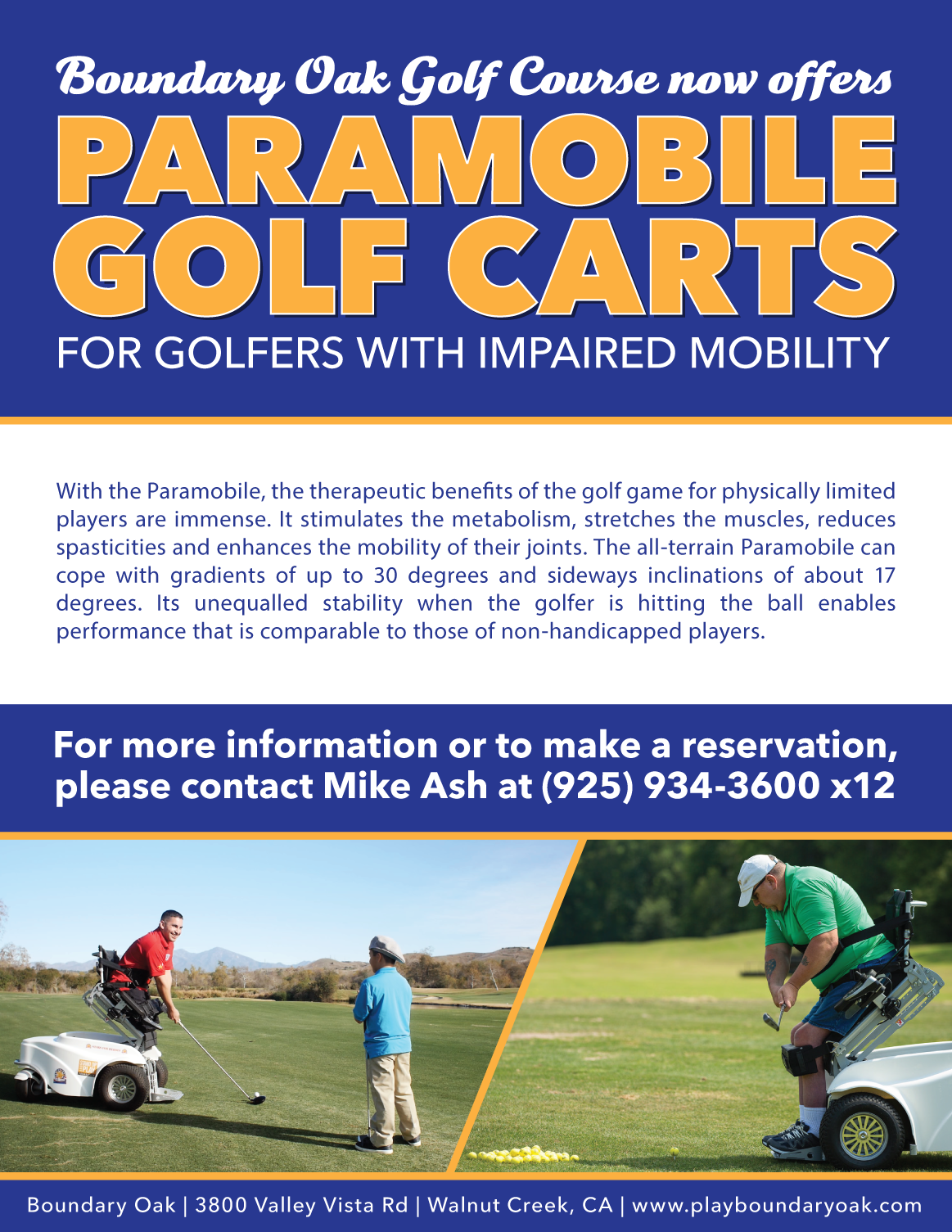 Paramobile Golf Carts on mobility golf carts, handicap golf carts, senior mobility carts, medical mobility carts,